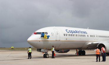 BAJAN PILOTS CAPTAIN COPA INAUGURAL FLIGHTS
