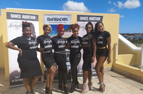 SIX BARBADIAN DANCERS CHOSEN TO DANCE AT BARCLAY'S CENTER
